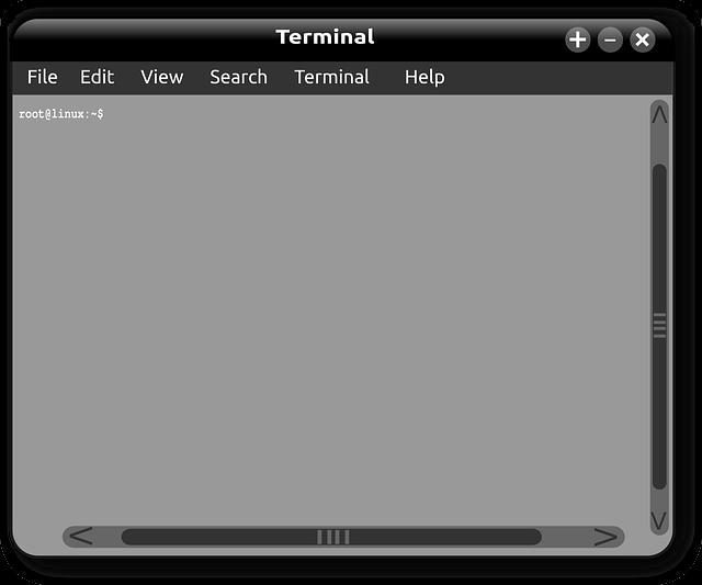 Linux Window Terminal Command  - OpenClipart-Vectors / Pixabay