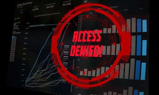No Access Access Denied Monitor  - Elchinator / Pixabay